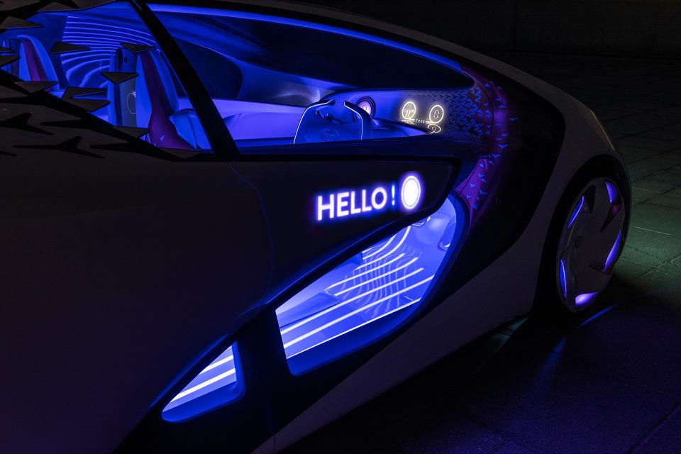 AIと自動運転で人とクルマの新しい関係を構築!トヨタ「Concept-愛i」がCESで世界初公開 7番目の画像