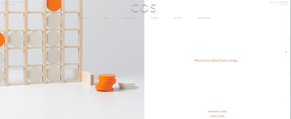 "H&Mの高級ライン「COS(コス)」:ファストファッションブランドが届ける""最高品質"" 5番目の画像"
