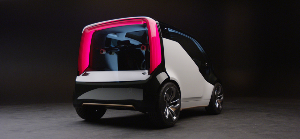 【動画】ホンダがASIMOの技術で自立するバイクやAI搭載の自動運転車をCESで発表! 2番目の画像