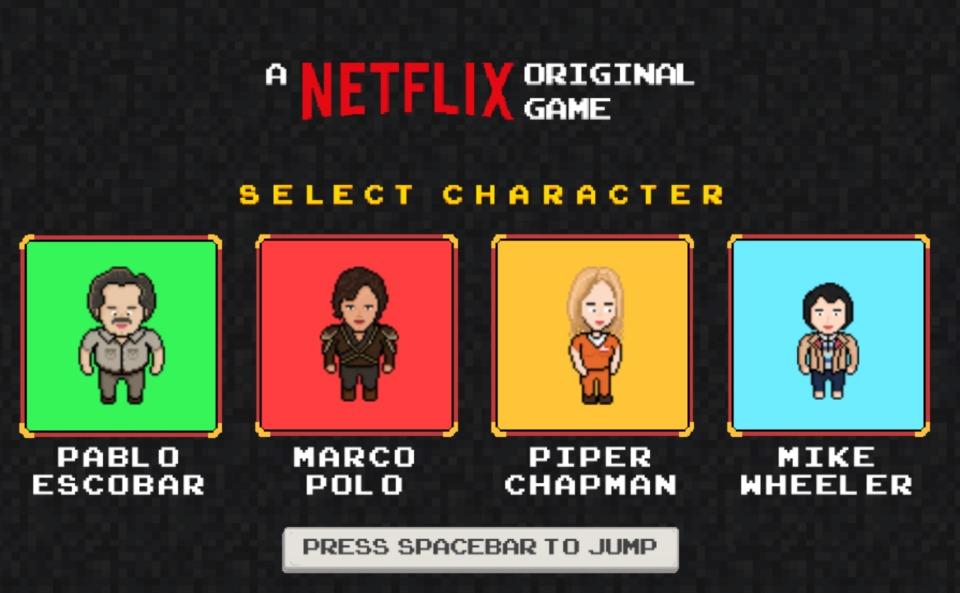 """意外とハマる?Netflixがオリジナルゲーム""""Infinite Runner""""を無料配信中! 1番目の画像"""