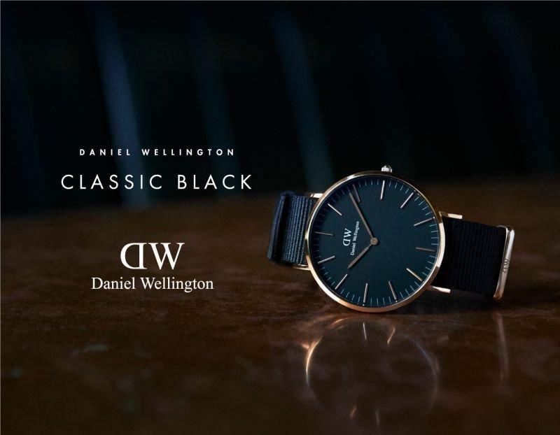 ダニエルウェリントンの新作「CLASSIC BLACK」はビジネスパーソンのマストアイテム 1番目の画像
