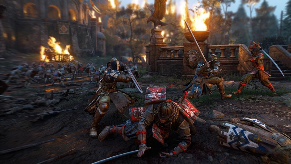 いかつい戦士たちの乱戦に熱狂!剣戟アクションゲーム『フォーオナー』 4番目の画像