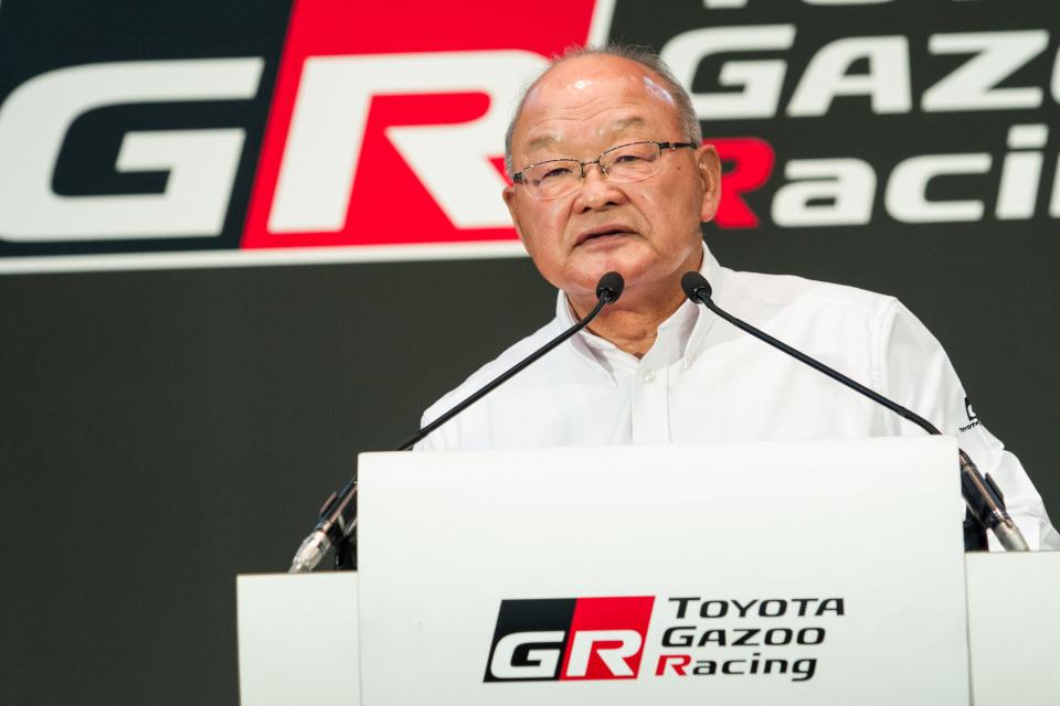 「TOYOTA GAZOO Racing」2017年活動計画発表会に豊田章夫社長がサプライズ登壇 4番目の画像