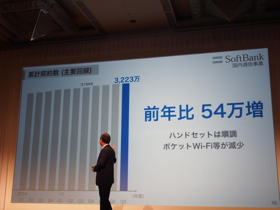 ソフトバンクの決算発表:孫正義社長が見せた、強気な理由と最後発のMVNOビジネス戦略 3番目の画像