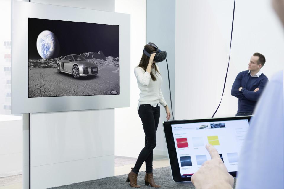 クルマもVRで試乗する時代に? アウディがVRテクノロジー体験イベントを実施 1番目の画像
