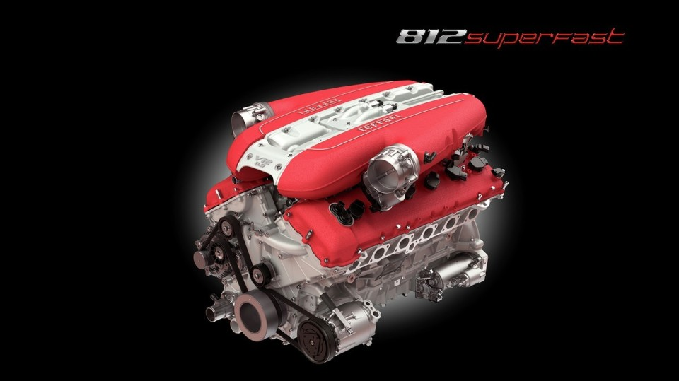 史上最強のエンジンを搭載したフロント・ミッドシップのフェラーリ「812 Superfast」爆誕 3番目の画像