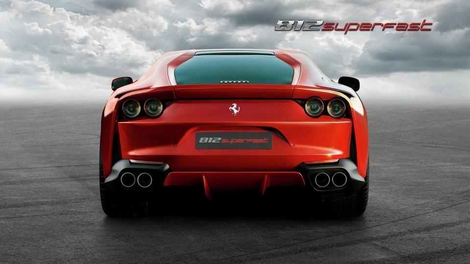 史上最強のエンジンを搭載したフロント・ミッドシップのフェラーリ「812 Superfast」爆誕 6番目の画像