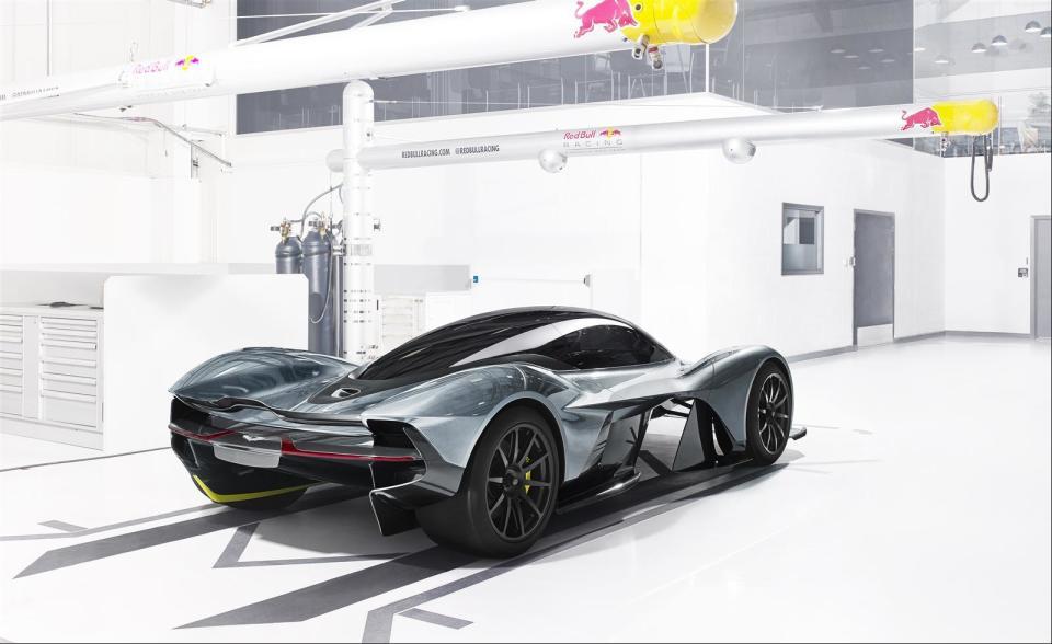 アストンマーティン×レッドブル! 豪華製作陣のハイパフォーマンスカー「AM-RB 001」 2番目の画像