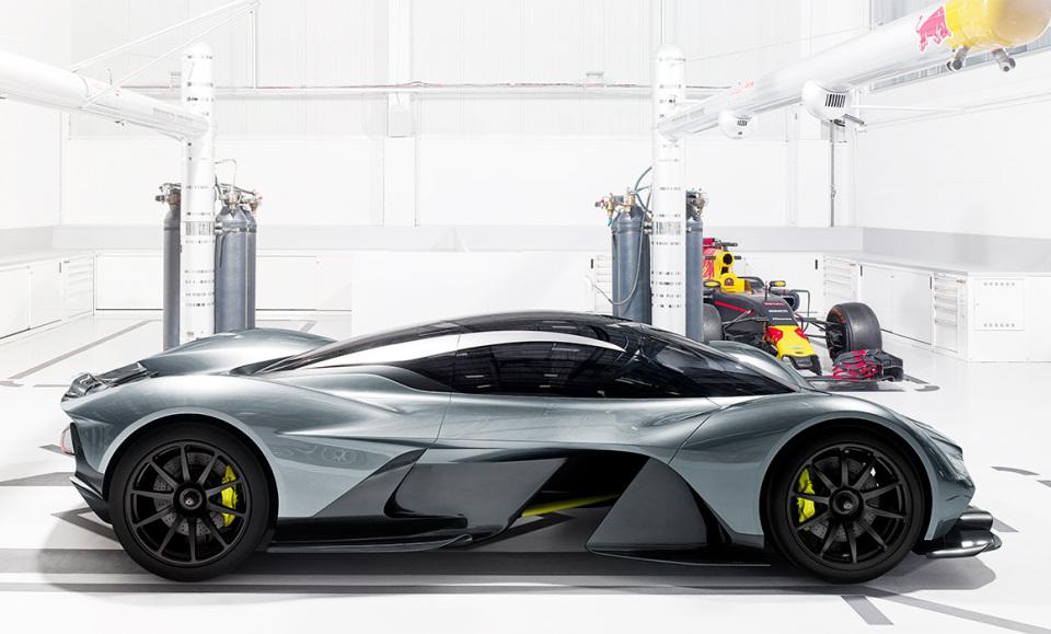 アストンマーティン×レッドブル! 豪華製作陣のハイパフォーマンスカー「AM-RB 001」 3番目の画像