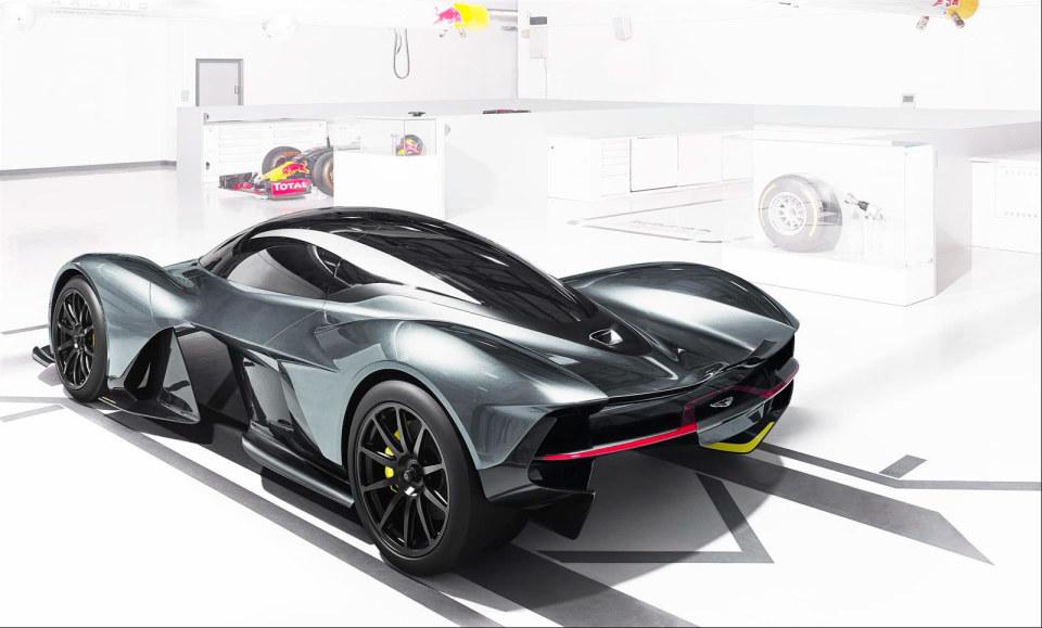 アストンマーティン×レッドブル! 豪華製作陣のハイパフォーマンスカー「AM-RB 001」 4番目の画像