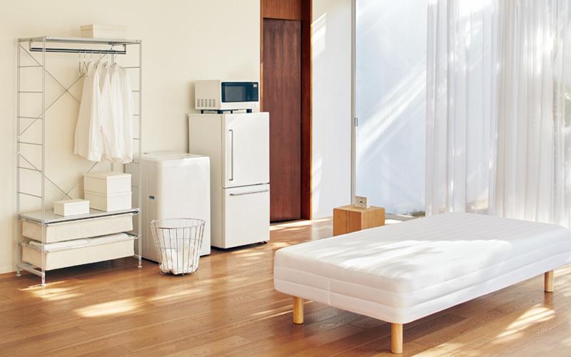 """""""理想の部屋""""を叶えるデザイン:無印良品のロングセラー家具「脚付きマットレス」の魅力に迫る 2番目の画像"""