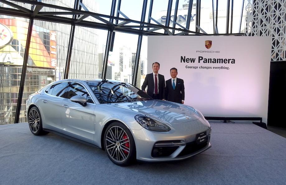 スポーツカー並みの運動性能を持ったラグジュアリーカー! ポルシェ「パナメーラ」の新型が発表 1番目の画像