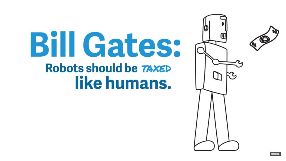 """ビルゲイツ「あなたの仕事を奪うロボットに課税をするべき」:""""新システム""""を海外メディアで提言 1番目の画像"""