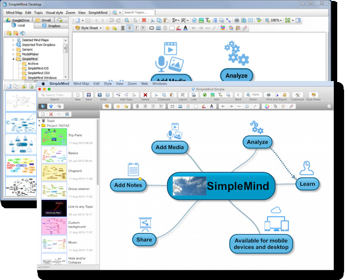 頭の整理は「マインドマップ」で!すぐに使いこなせるおすすめアプリ6選 2番目の画像