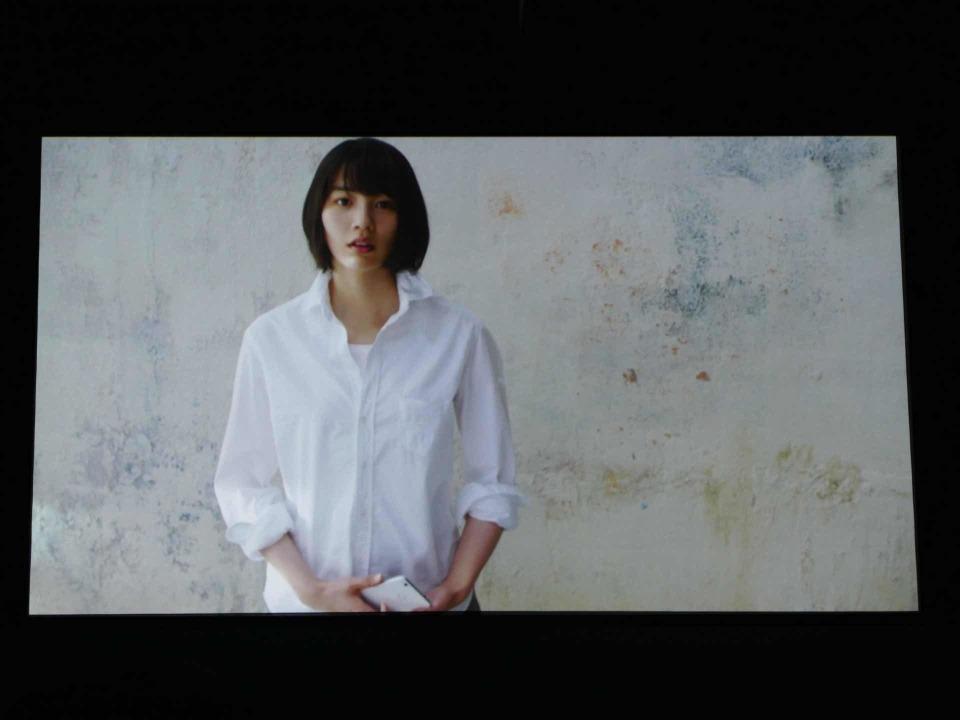 LINEモバイル新CM発表会に女優のんさん登壇:夏には通話定額オプションも導入? 5番目の画像