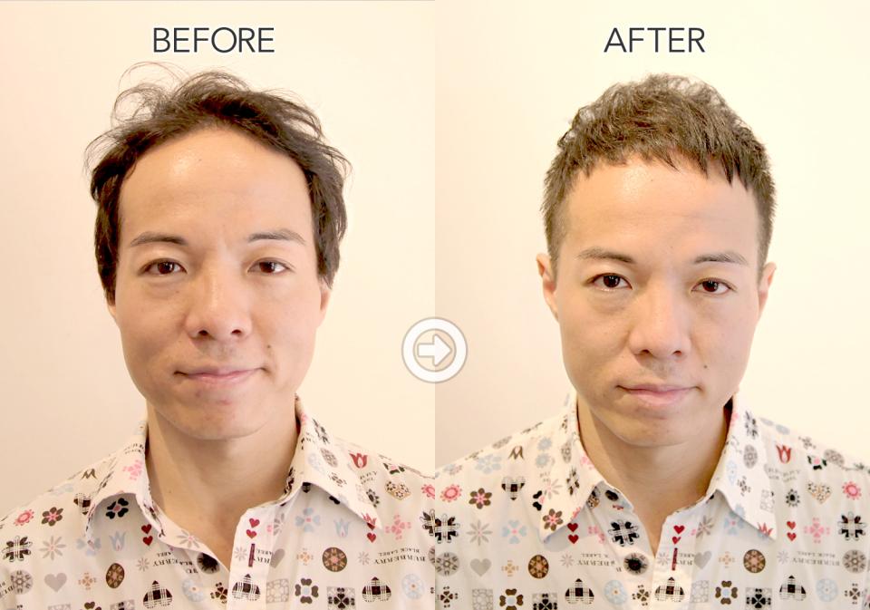 【プロが監修】ハゲる前に読む! 薄毛をカバーできるヘアスタイル&アレンジテク 5番目の画像