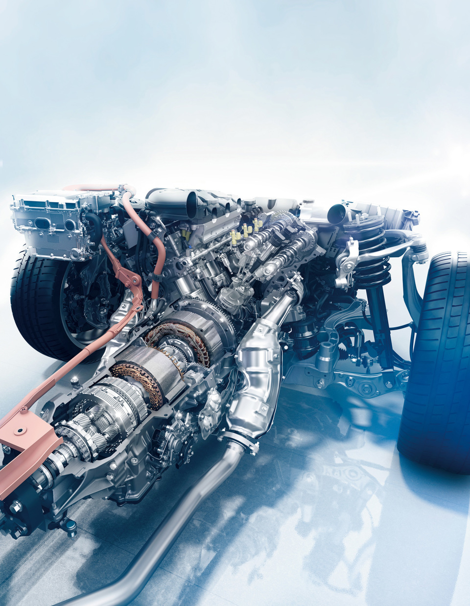 レクサスのフラッグシップ「LC500h」に搭載された「マルチステージハイブリッドシステム」の実力 3番目の画像