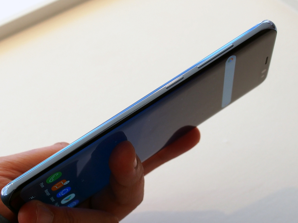 サムスン渾身の最新スマホ「Galaxy S8/S8+」ハンズオン:ニューヨーク発表会現地レポート 7番目の画像