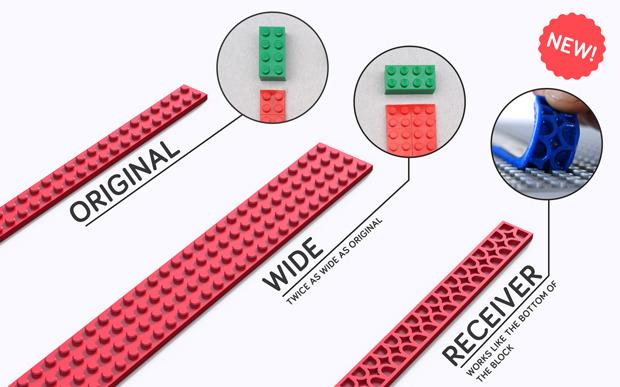レゴブロックがテープになった「Nimuno Loops」は遊び方無限大だった! 3番目の画像