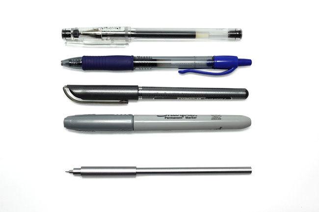 数々のデザイン賞を受賞した、驚愕の細さのペン「Pen UNO」が比類なき書き味を提供する 5番目の画像