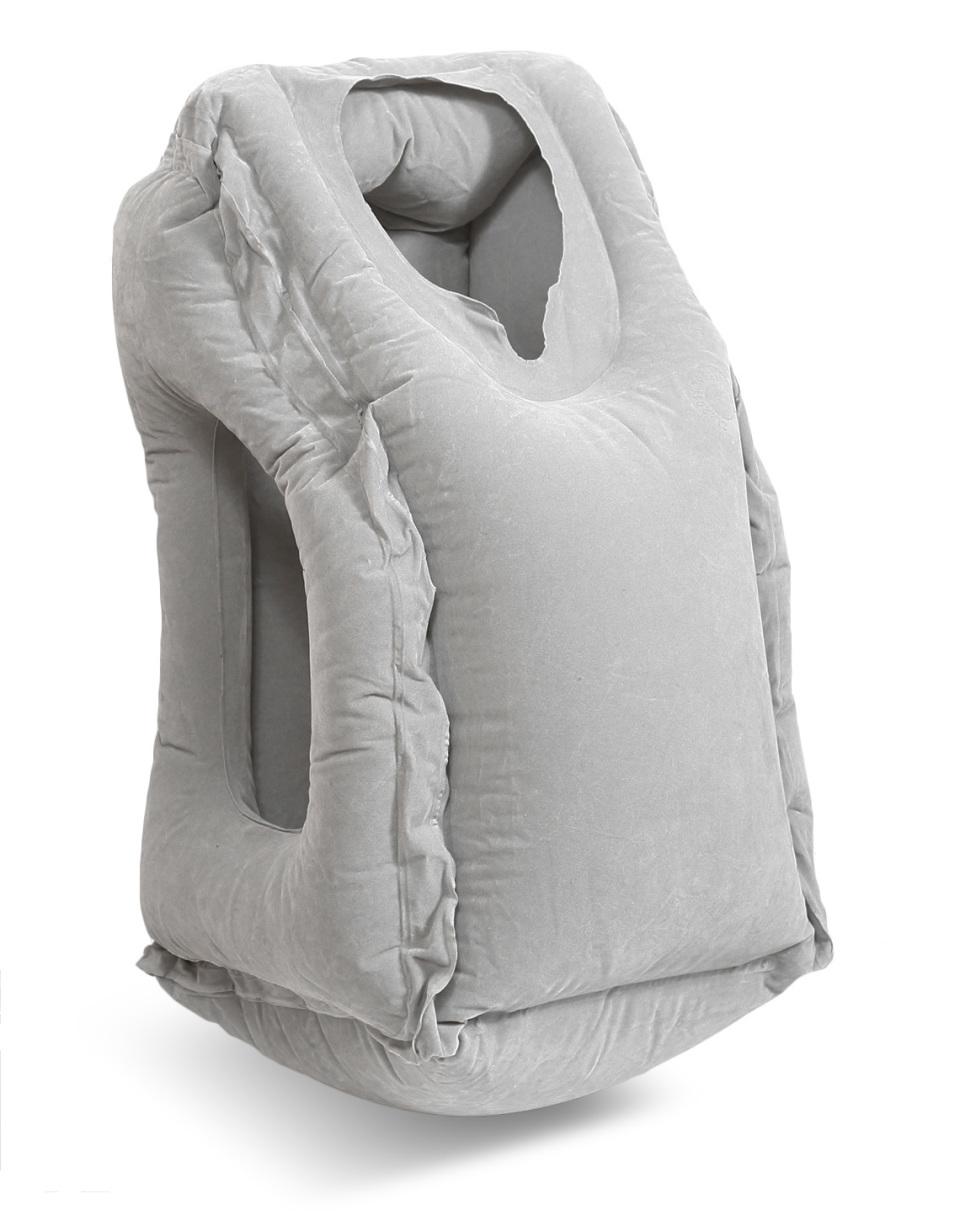 【その発想は無かった!】座ったまま快眠を叶える「おやすみピロー」発売開始! 2番目の画像