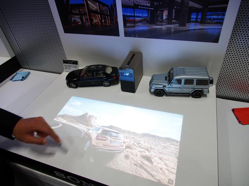 壁や机に投影した映像をタッチ操作!「Xperia Touch」ファーストインプレッション 1番目の画像