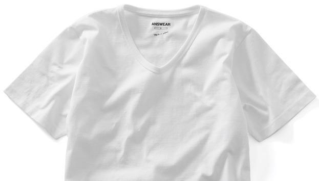 """5月3日「肌が透けない白無地Tシャツ」数量限定で再販決定。透けないオトコの""""ANSWEAR"""" 2番目の画像"""