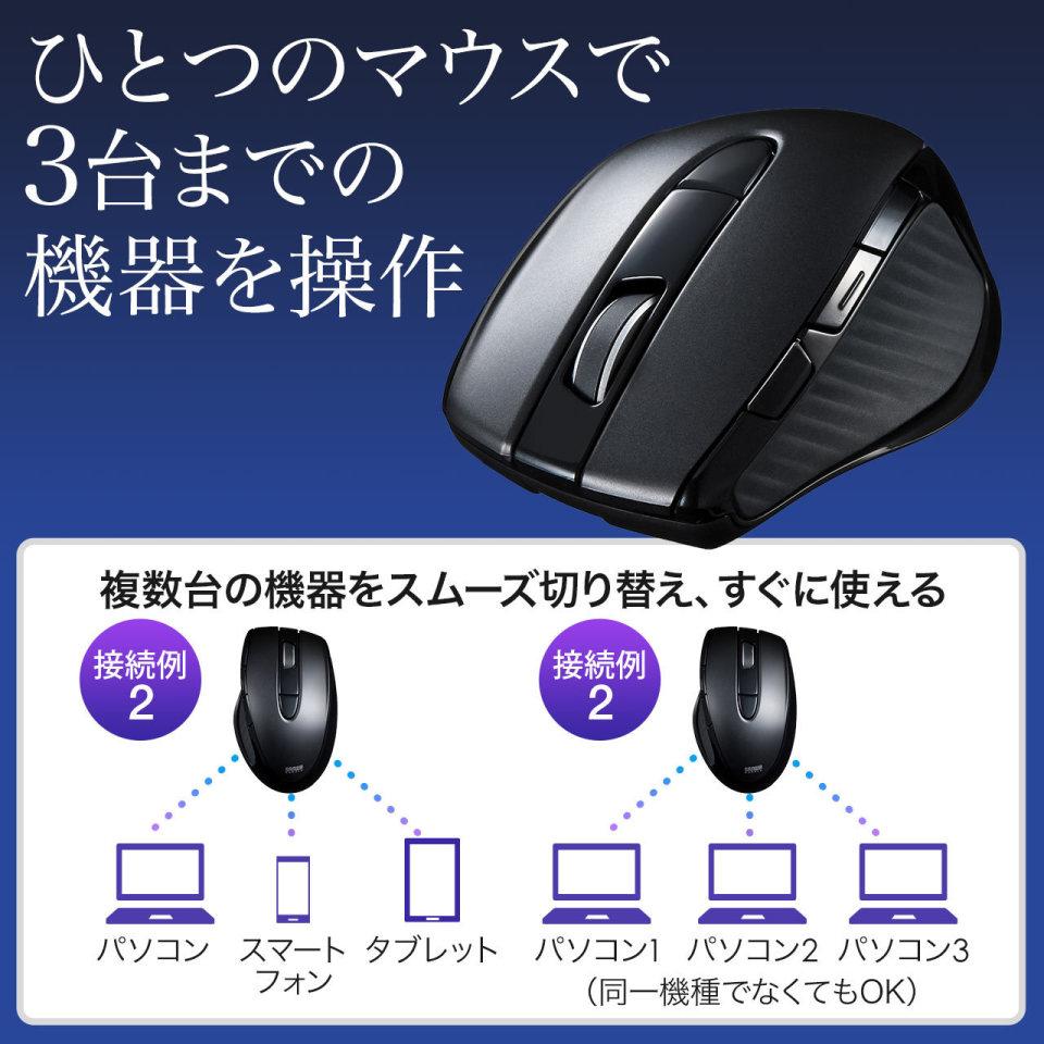 """想像以上に便利だった""""マルチペアリング対応マウス"""":3デバイスに繋いでPC作業の効率UP! 3番目の画像"""