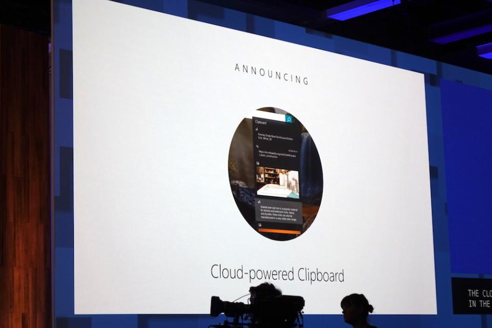 どんなスマホも分け隔てなく連携:Windows 10新機能から見るマイクロソフトの今 2番目の画像