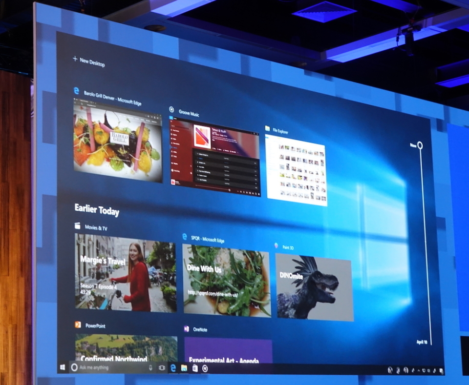 どんなスマホも分け隔てなく連携:Windows 10新機能から見るマイクロソフトの今 3番目の画像