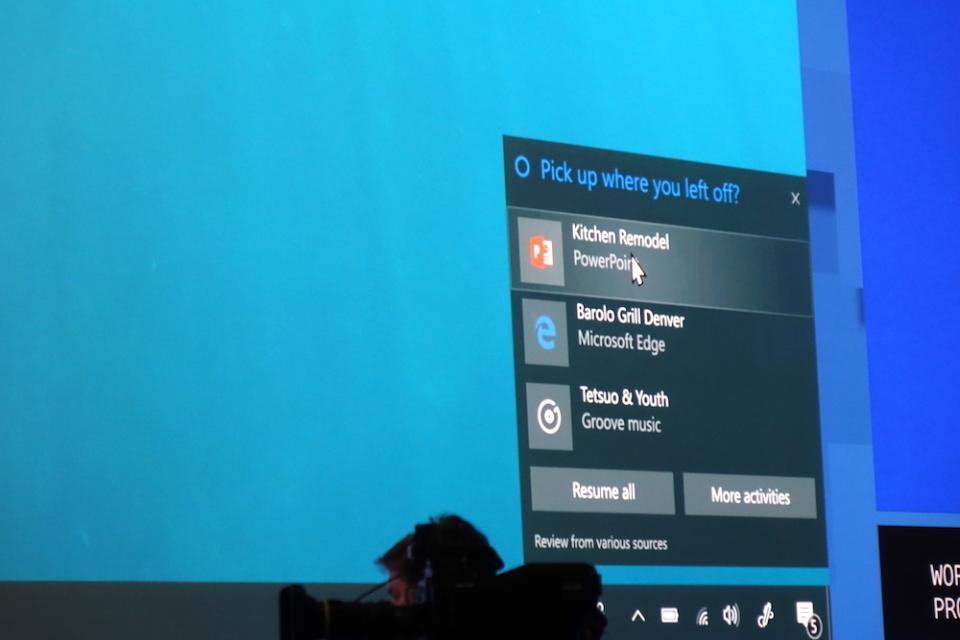 どんなスマホも分け隔てなく連携:Windows 10新機能から見るマイクロソフトの今 4番目の画像