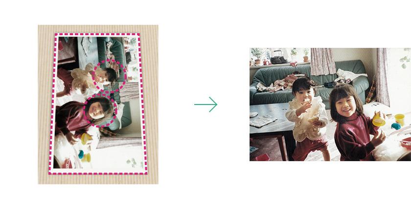 """大切な思い出を""""永遠のもの""""に:紙焼き写真をテカらずデジタル化する「Omoidori」 5番目の画像"""