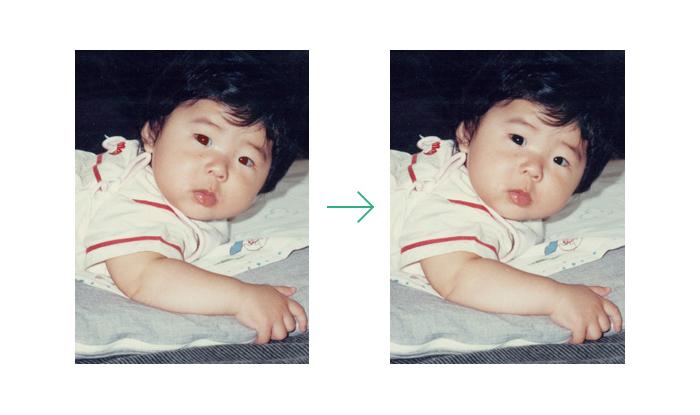 """大切な思い出を""""永遠のもの""""に:紙焼き写真をテカらずデジタル化する「Omoidori」 7番目の画像"""