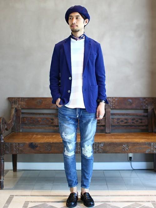 """真の洒落男が着こなす「ジャケット×ジーンズ」:本当の""""かっこいい""""を魅せる、ジャケジーのコーデ術 2番目の画像"""