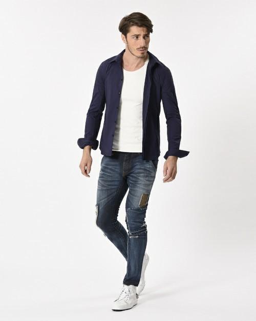 """真の洒落男が着こなす「ジャケット×ジーンズ」:本当の""""かっこいい""""を魅せる、ジャケジーのコーデ術 3番目の画像"""