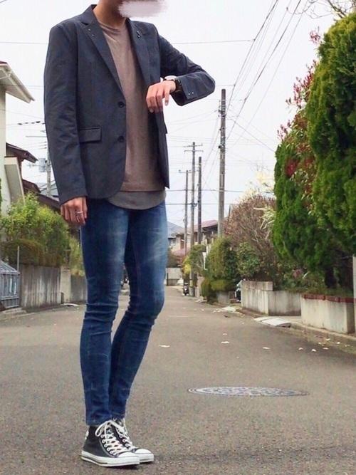 """真の洒落男が着こなす「ジャケット×ジーンズ」:本当の""""かっこいい""""を魅せる、ジャケジーのコーデ術 4番目の画像"""