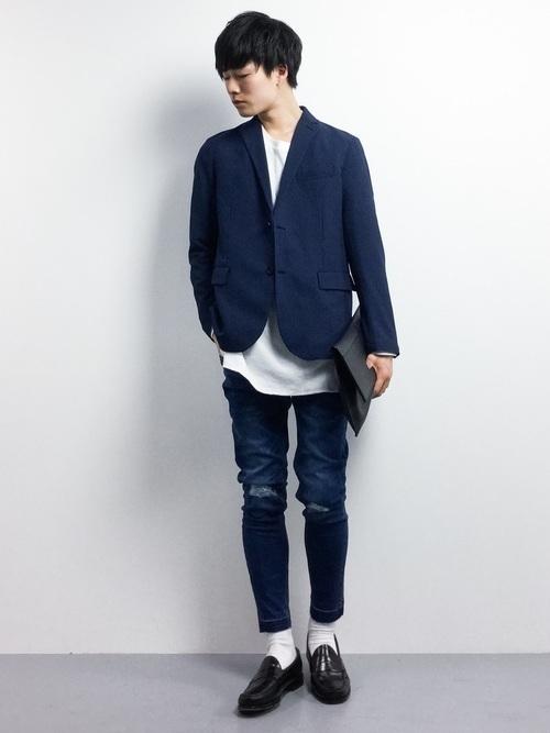 """真の洒落男が着こなす「ジャケット×ジーンズ」:本当の""""かっこいい""""を魅せる、ジャケジーのコーデ術 5番目の画像"""