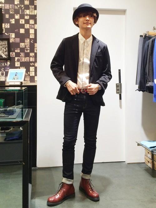 """真の洒落男が着こなす「ジャケット×ジーンズ」:本当の""""かっこいい""""を魅せる、ジャケジーのコーデ術 12番目の画像"""
