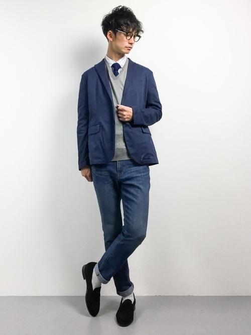 """真の洒落男が着こなす「ジャケット×ジーンズ」:本当の""""かっこいい""""を魅せる、ジャケジーのコーデ術 14番目の画像"""