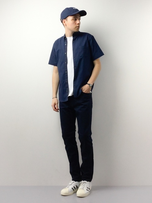 ALL MADE IN JAPANにこだわった「UNITED TOKYO」の半袖シャツ5コーデ 5番目の画像
