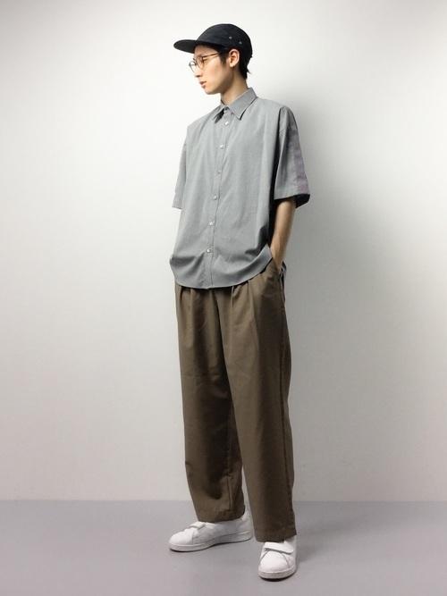 ALL MADE IN JAPANにこだわった「UNITED TOKYO」の半袖シャツ5コーデ 9番目の画像