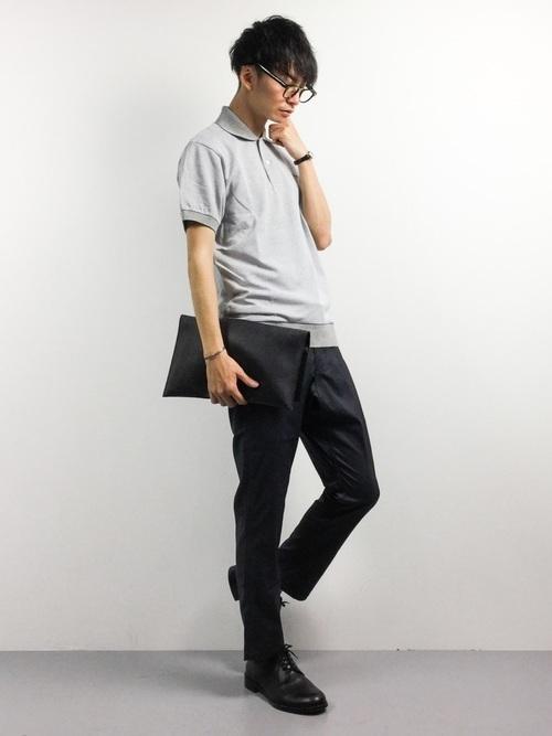 大人メンズの大定番「LACOSTE」のポロシャツ。女性の好感度◎なコーディネート集 6番目の画像