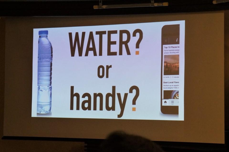 シャープの合弁会社「handy Japan」、客室備付無料レンタルスマホ「handy」日本初導入 6番目の画像