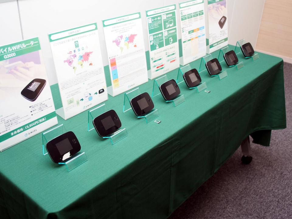 世界100カ国で使えるクラウド型SIM搭載のWi-Fiルーター「GWiFi」が日本上陸! 1番目の画像