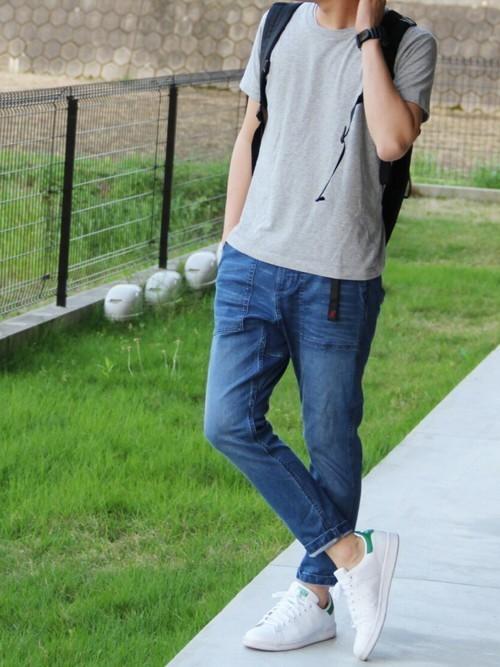 【最新版】世界一のスニーカー「スタンスミス」で作るおしゃれメンズコーデ集 3番目の画像