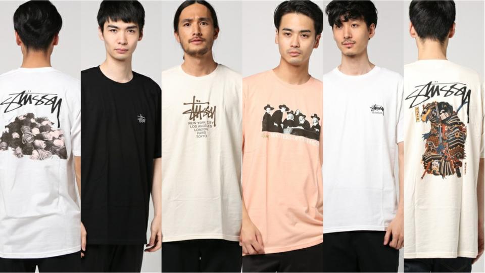 完売続出!ストリートの王道STUSSYの新作Tシャツ5選 1番目の画像