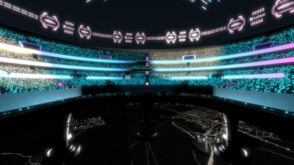 VRで遊ぶ近未来スポーツ「WARP BALL」がテレビ朝日のサマステに登場!1対1の空中戦を体感 7番目の画像