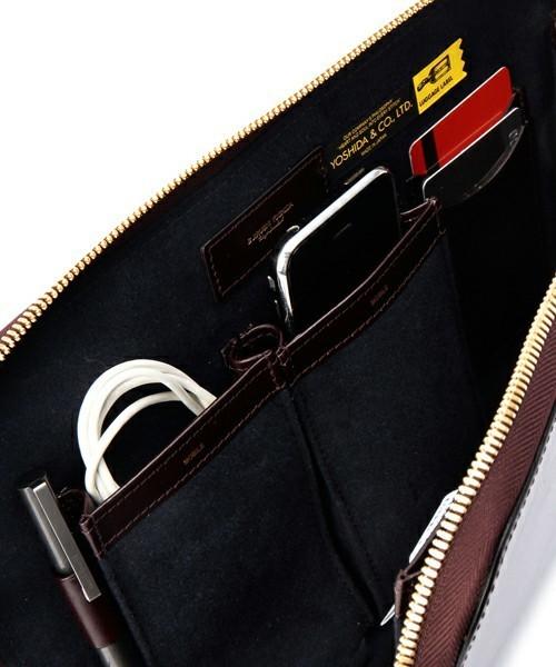 オンオフ偏愛バッグはPORTERのクラッチで決定! 3番目の画像