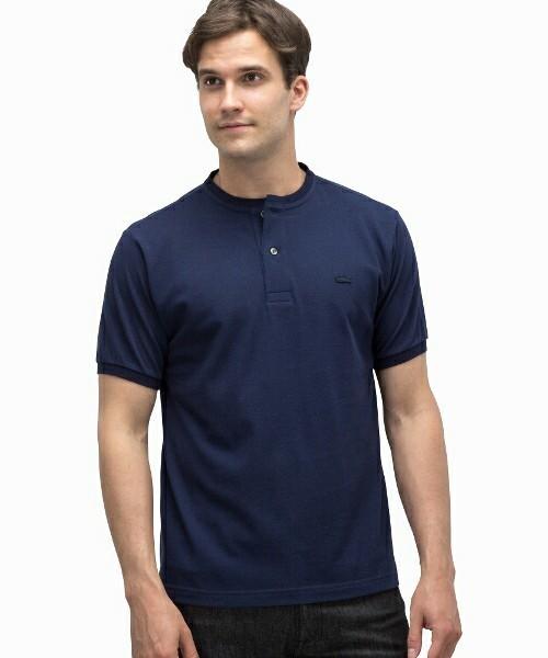 オシャレ上級者っぽく見える旬アイテム「ヘンリーネックTシャツ」特集 6番目の画像