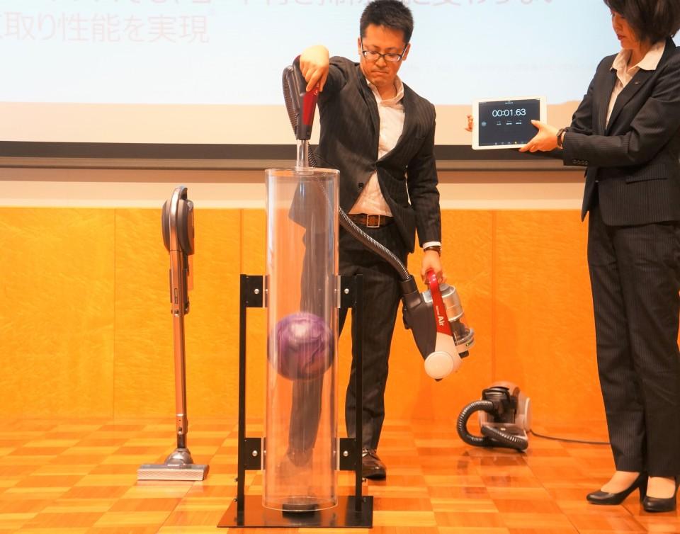 シャープ発、世界最軽量のコードレス掃除機「RACTIVE Air」は吸引力と軽さを両立! 7番目の画像